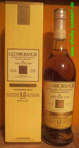 Glenmroangie - Nectar D`Or - 15 Years - Extra Matured