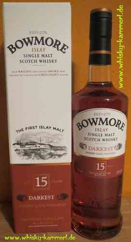 Bowmore Darkest - 15 Years