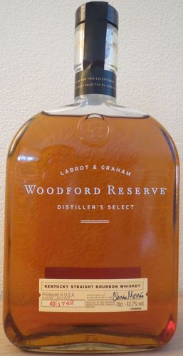 Woodford Reserve - Straight Bourbon Whiskey