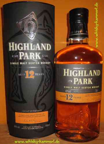 Highland Park - 12 Years - 40% (old Edition)
