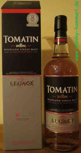 Tomatin - Legacy - 43% - old Edition