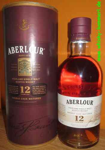 Aberlour - 12 Years - Double Cask - 40% - (old Edition)