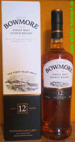 Bowmore - 12 Years - 40% (old Edition)