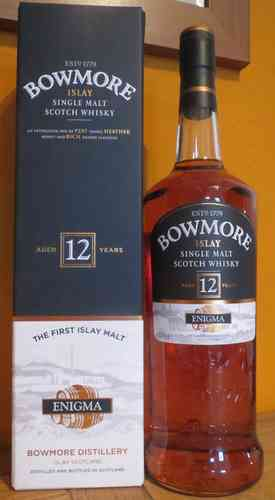 Bowmore - Enigma - 12 Years - 40% (1 Liter)