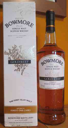 Bowmore - Gold Reef - 43% - 1 Liter
