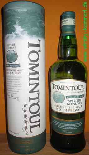 Tomintoul - Peaty Tang - 40%