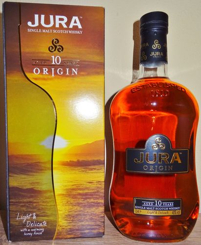 "Jura - 10 Years - Origin - ""Light & Delicate"" - 1 Liter (old Edition)"