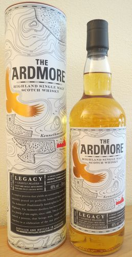 Ardmore - Legacy - Lightly Peated - 40%