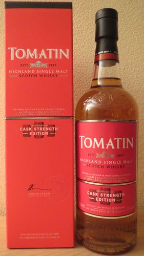 Tomatin - Cask Strength - 57,5% (Old Edition /Bottled 17.02.2015)