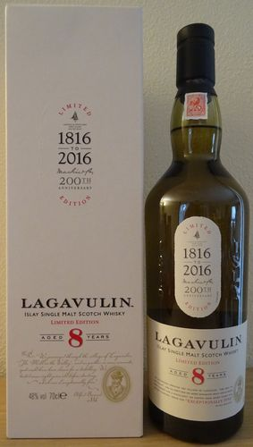Lagavulin - 8 Years - 200th. Annivesary