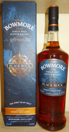Bowmore - Black Rock - 40% - 1 Liter