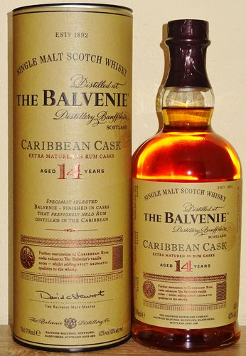 Balvenie -Carribean Cask-14 Years
