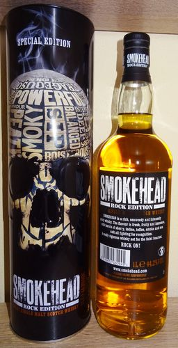 Smokehead - Rock Edition - 44,2% - 1 Liter