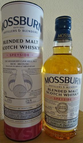 Mossburn - Speyside - 46% - Cask Bill No. 2 - Blended Malt