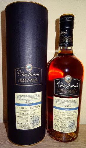 Ledaig (Chieftains) - 10y. -  Pomerol Wine Cask Finish - 2007 / 2018 - Cask Strength