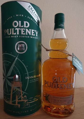 Old Pulteney - Dunnet Head Ligthouse - 46% - 1 Liter