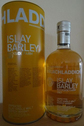 Bruichladdich - Islay Barley 2007 - Rockside Farm - 50%