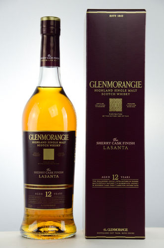Glenmorangie - Lasanta - 12 Years - 43% (old Edition)