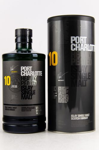 Port Charlotte - 10 Years - Heavily Peated - 50%