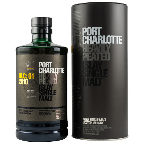 Port Charlotte - OLC:01 - 2010 - 9 Years - 55,1% (Cask Exploration Series)