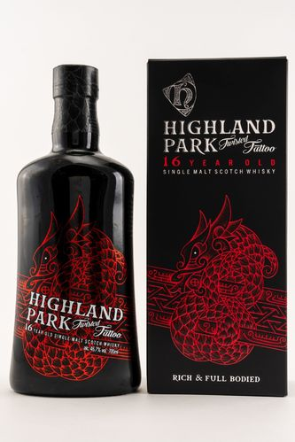 Highland Park - Twisted Tattoo - 16 Years - 46,7%