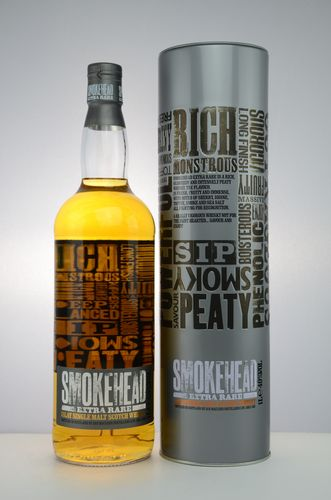 Smokehead - Extra Rare - 40% - 1 Liter (old Edition)