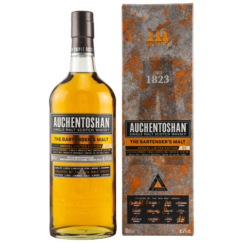 Auchentoshan - The Bartender`s Malt - (Limited Edition No. 1) - 47%