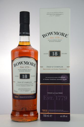 Bowmore - 18 Years - Deep & Complex - 43%